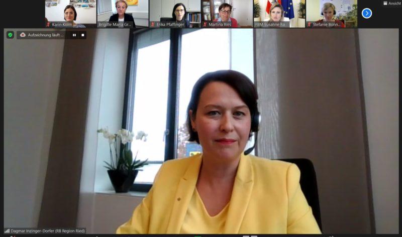 Mittwoch um Eins mit Frauenministerin MMag. Dr. Susanne Raab