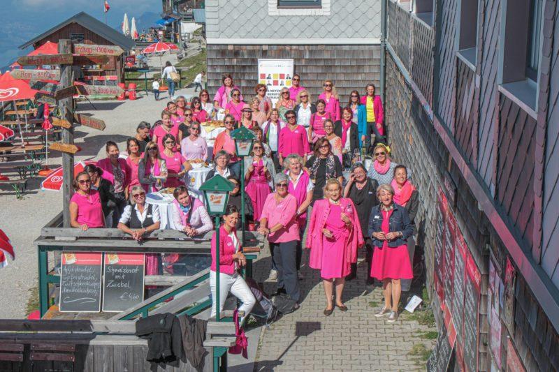 20 Jahre BPW Club Salzkammergut - Gipfeltreffen mit Weitblick am Schafberg
